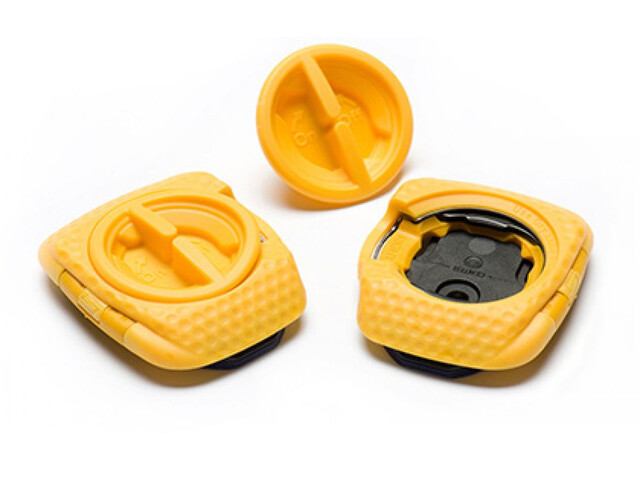 Speedplay Zero Aero Walkable Pedal Plates Set, yellow
